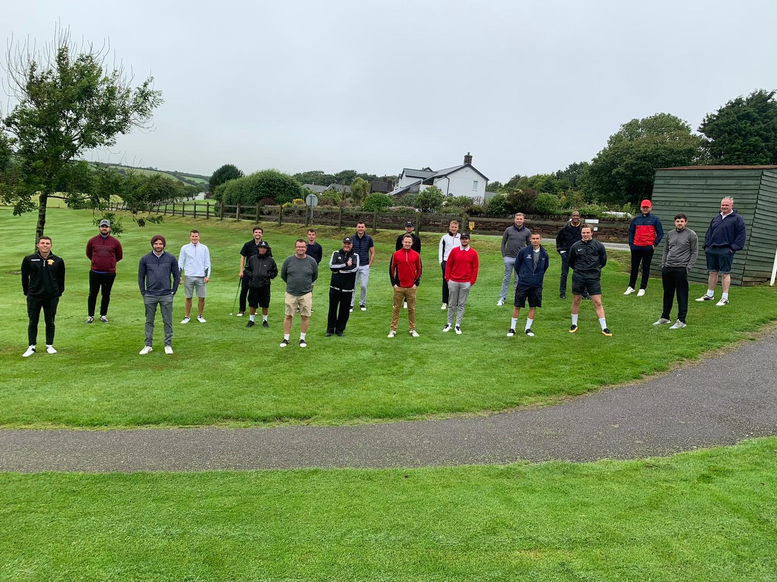 1st Team Golf Day 2020