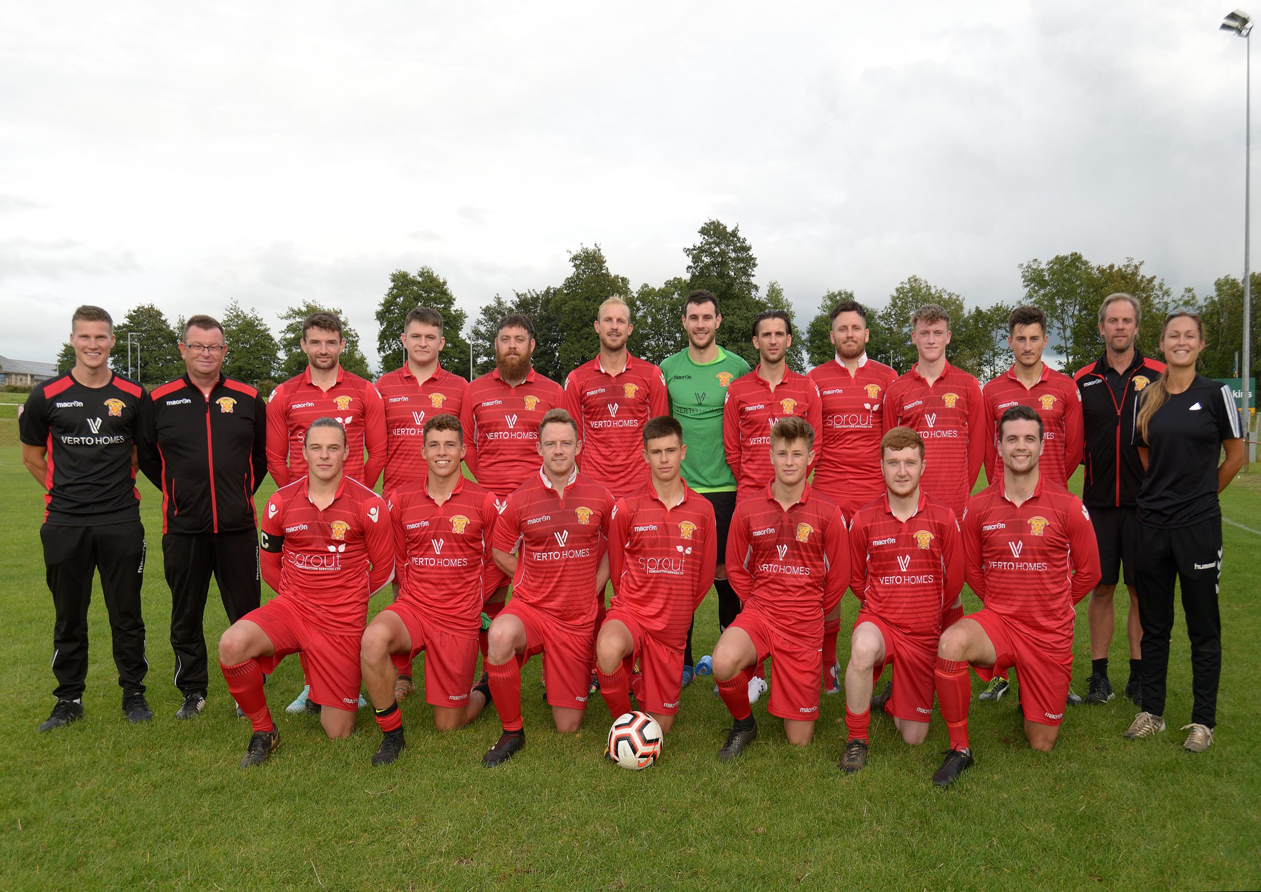 Wadebridge Town FC First team Aug 2019