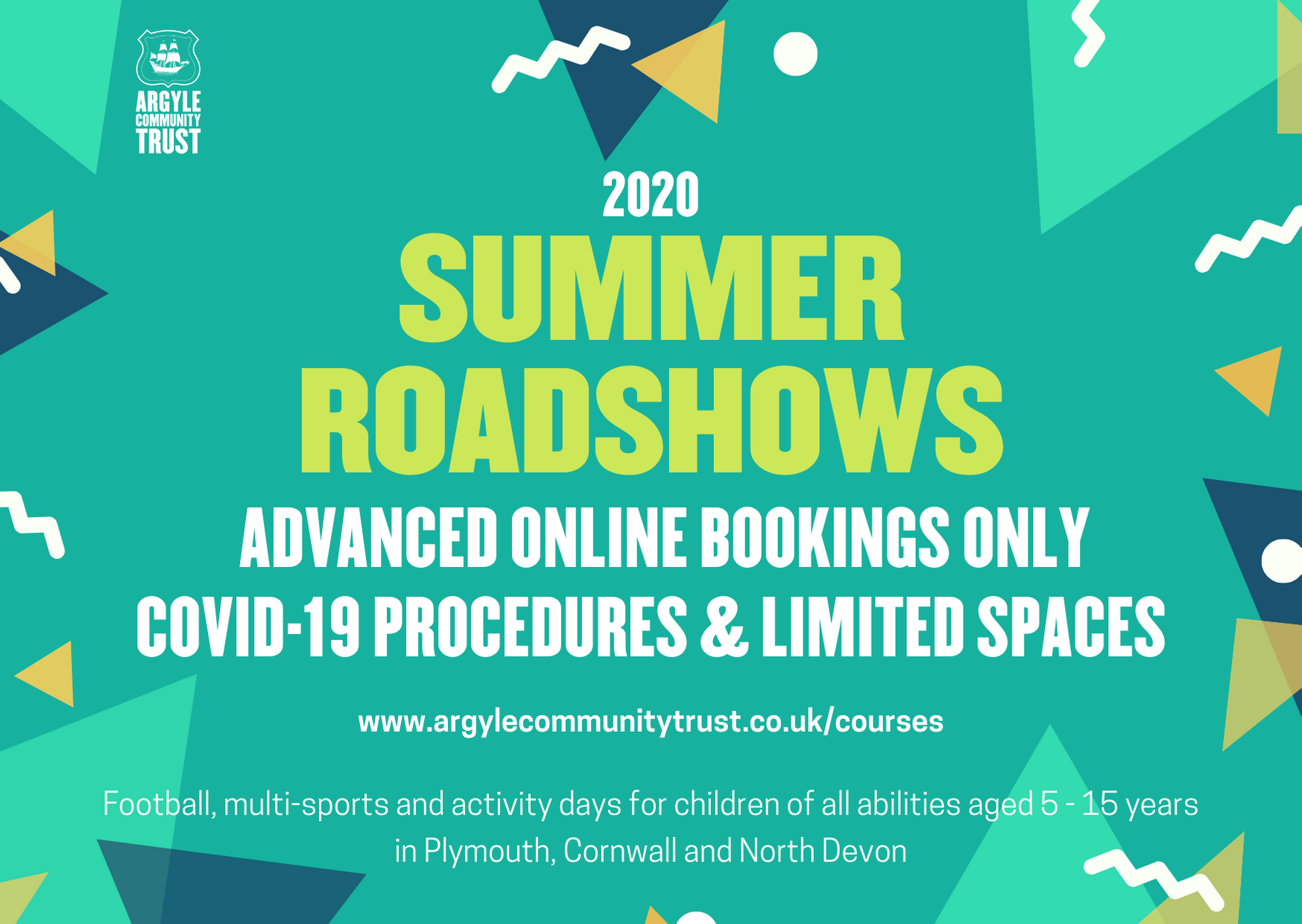 Plymouth Argyle Community Trust Summer Roadshows