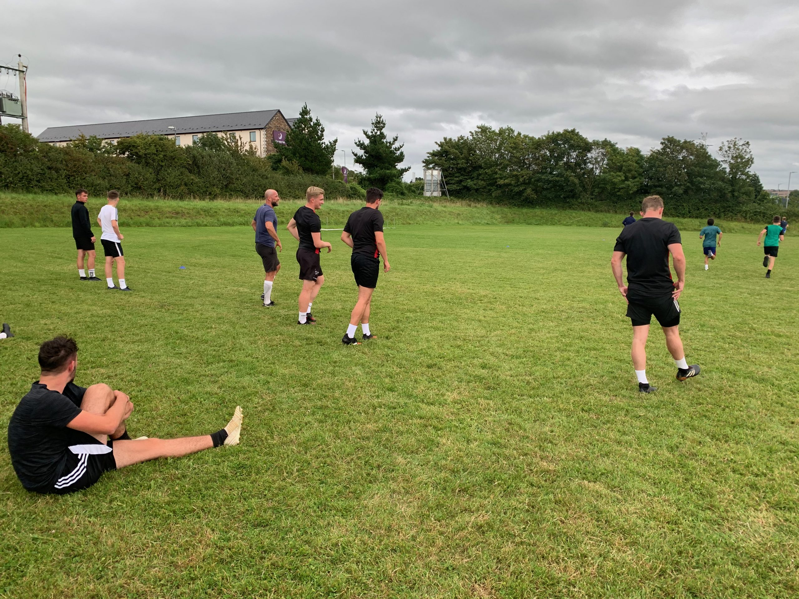 1st Team Pre Season Training