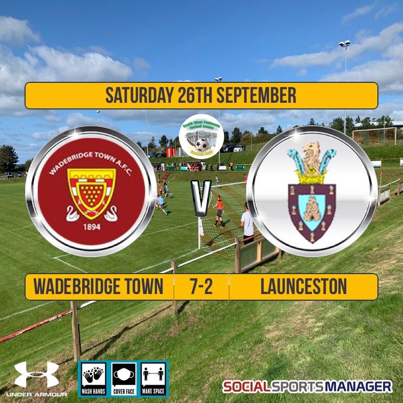 Wadebridge Town 7 v 2 Launceston