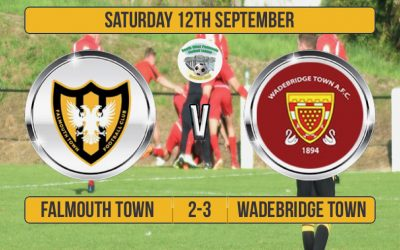Match Report: Falmouth Town 2 v 3 Wadebridge Town