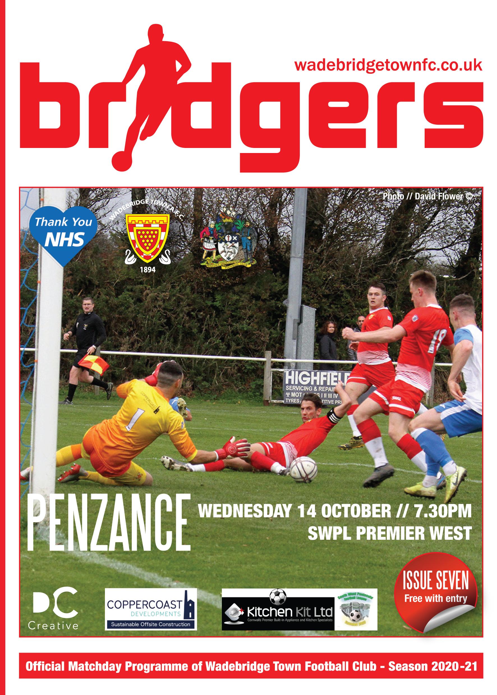 Bridgers Front Cover Penzance 2020-21
