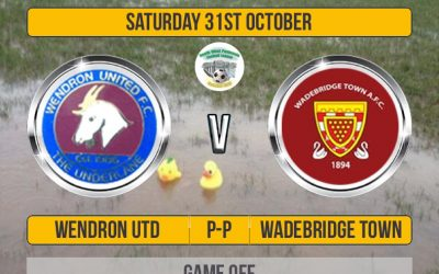 Match Off: Wendron United v Wadebridge Town Postponed