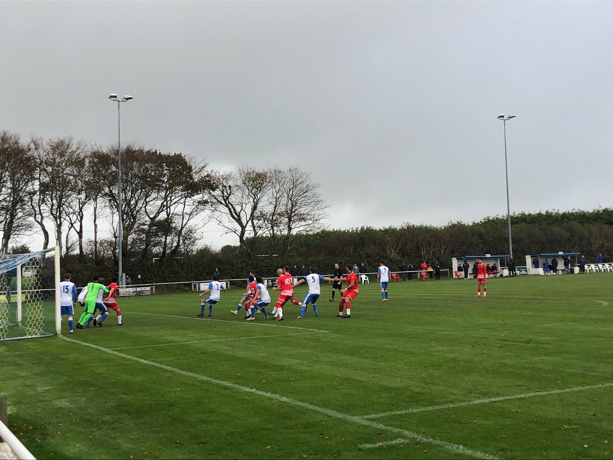 Camelford v Wadebridge Town in FA Vase