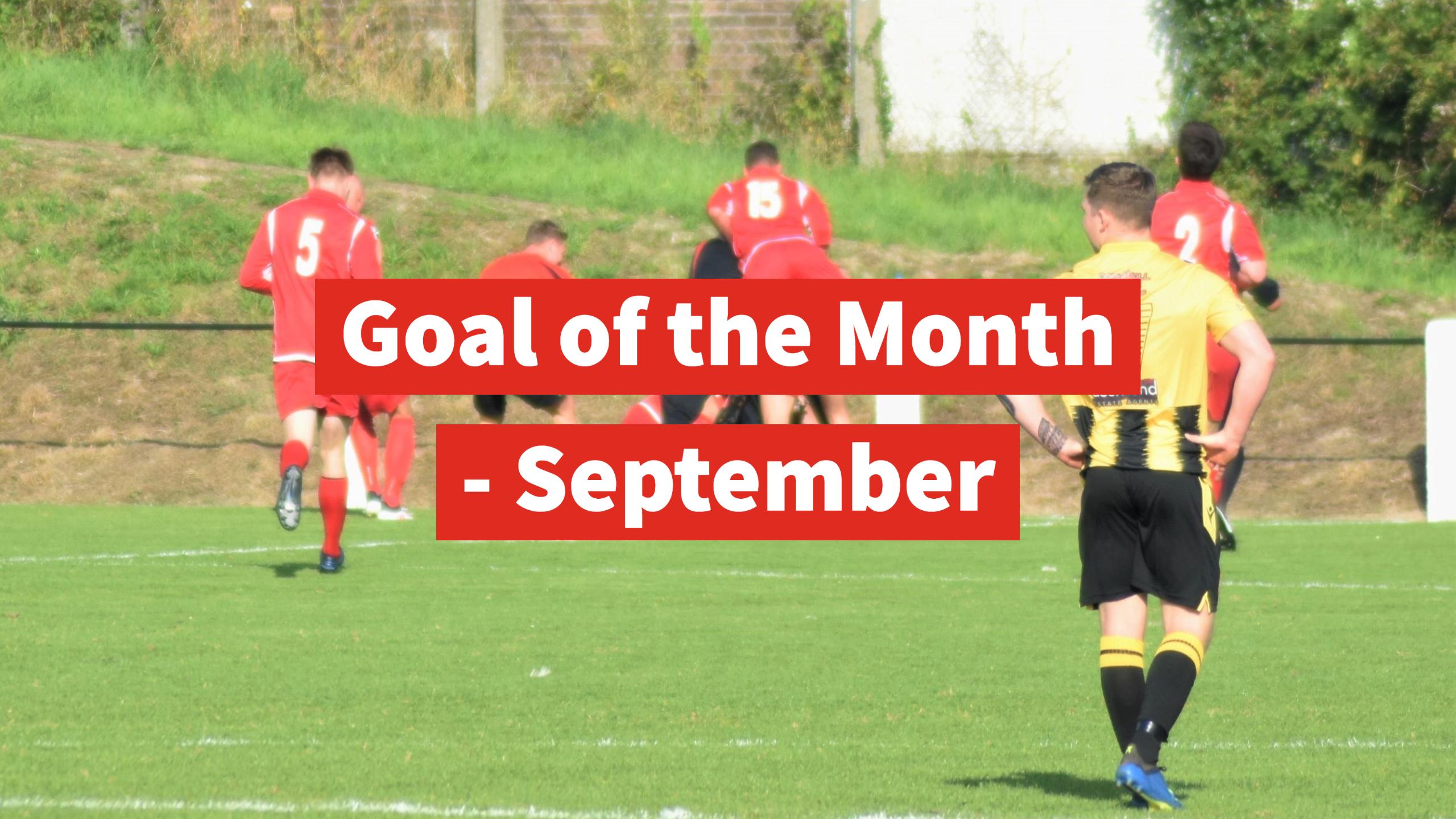 Goal of the Month - September