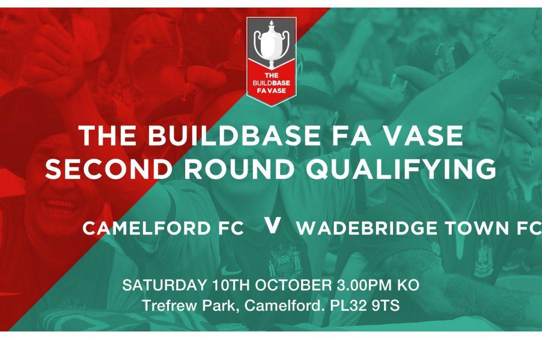 Match Report: FA Vase 2nd Qualifying Round – Camelford 0 v 0 Wadebridge Town (lost 6v5 on pens)