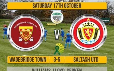Match Report: Wadebridge Town 3 v 5 Saltash United