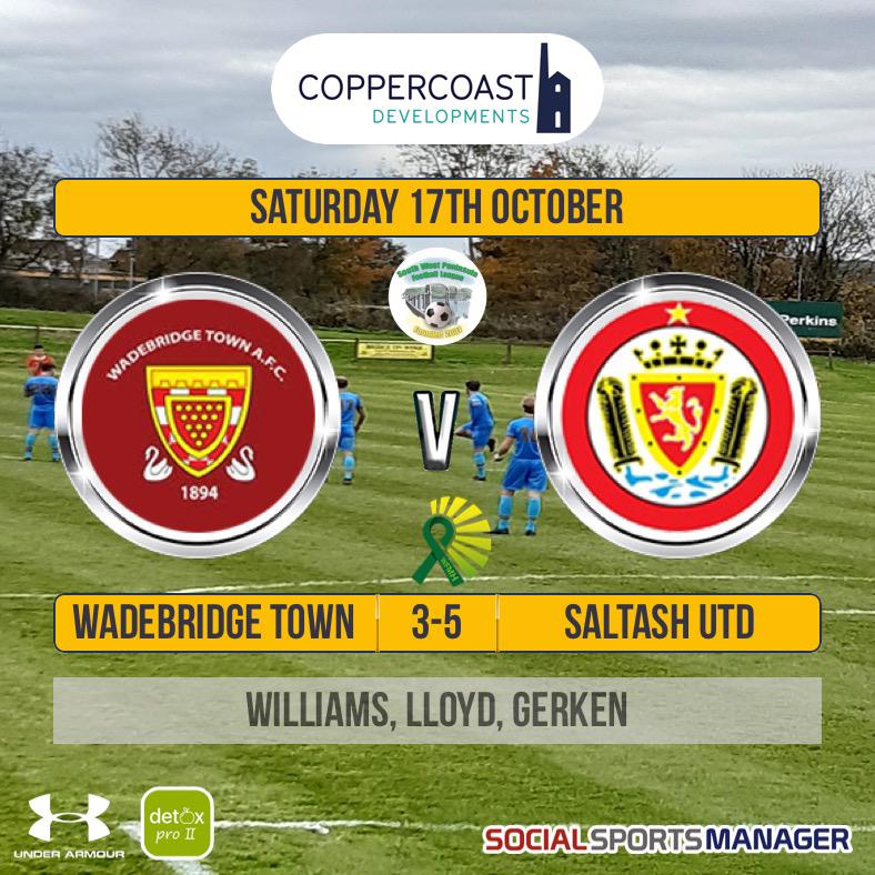 Wadebridge Town 3 v 5 Saltash United
