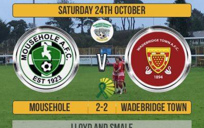 Match Report: Mousehole 2 v 2 Wadebridge Town