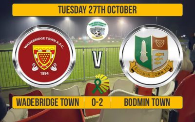 Match Report: Wadebridge Town 0 v 2 Bodmin Town