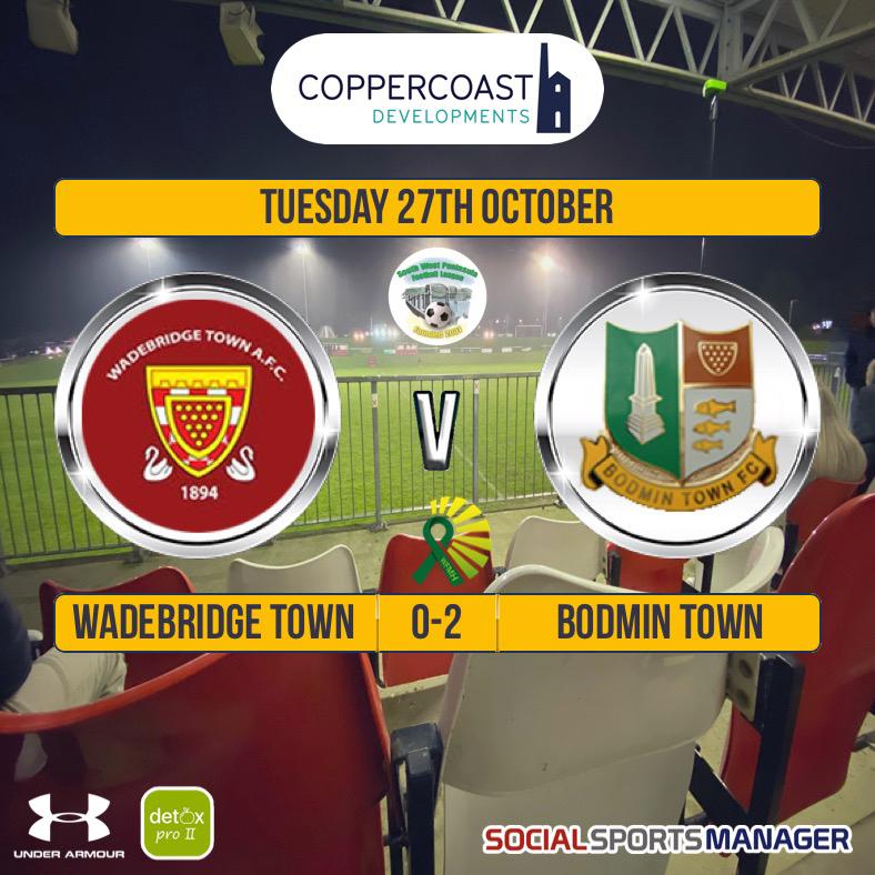 Wadebridge Town 0 v 2 Bodmin Town