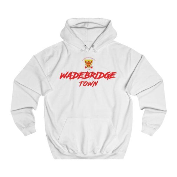 Wadebridge Town Hoodie - White