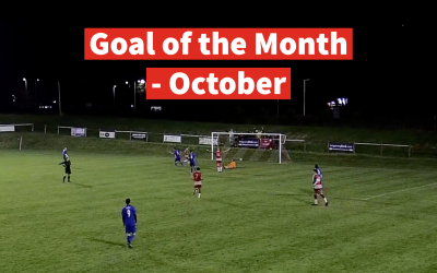 Congratulations to Matt Lloyd as he is crowned our Goal of the Month Winner for October