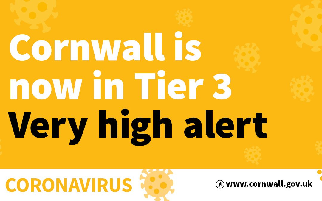 Latest Impact of Cornwall Entering Tier 3