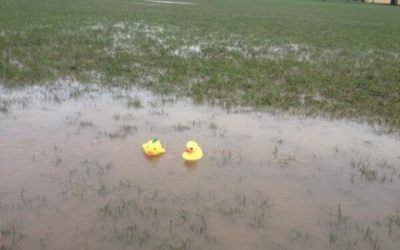 Game Off: Weather 1 v 0 Bridgers and Helston