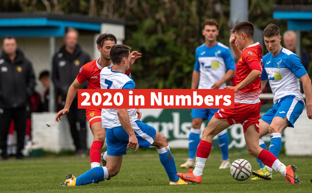 2020 in Numbers for the 1st Team