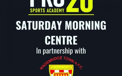 Saturday Morning Centre Launched To Kick Off New Pro20 Sports Academy Partnership