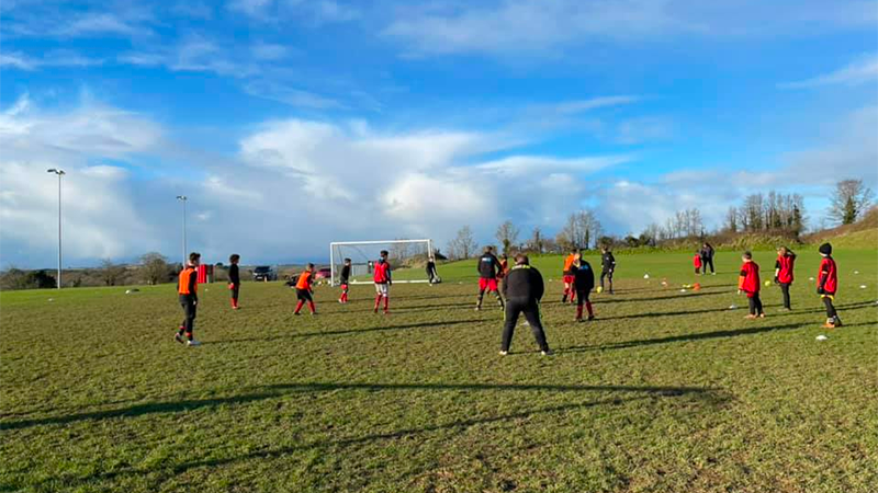 Plenty of Youth Football at Bodieve Park This Easter