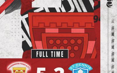 Match Report: Wadebridge Town 5 v 2 St Dennis