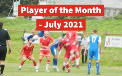 Congratulations Rob Rosevear, Your Player of the Month for July