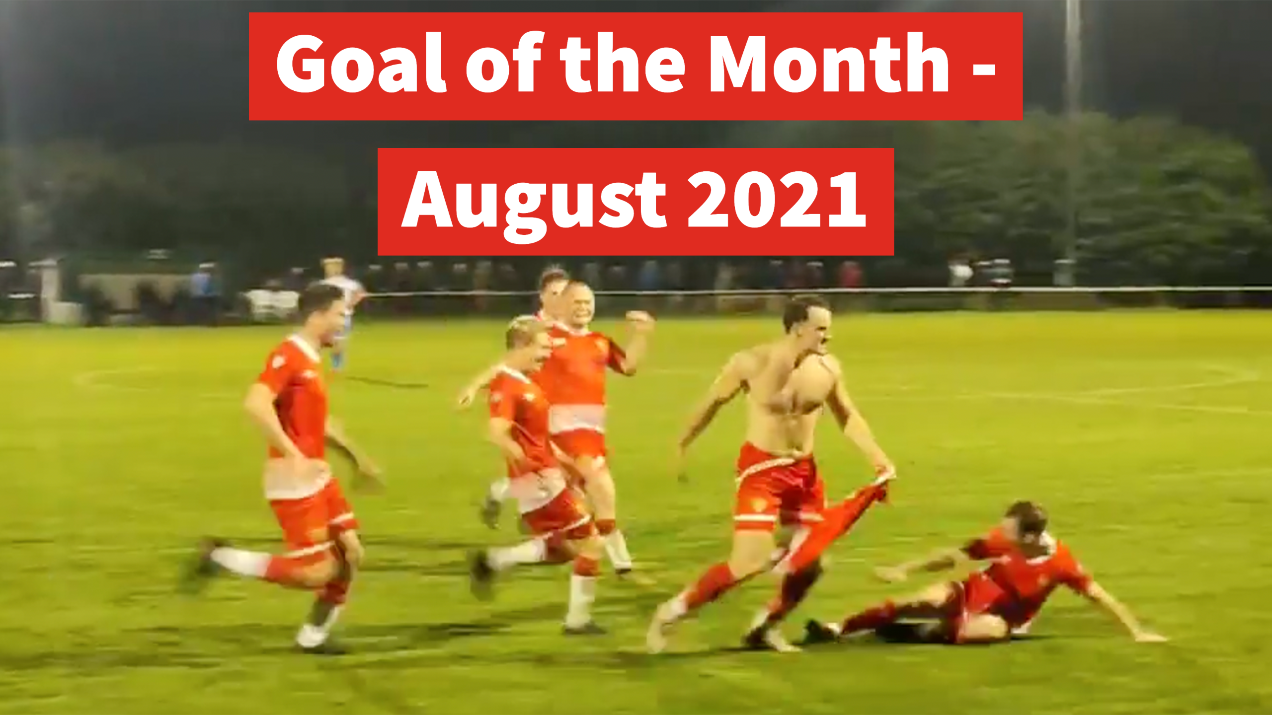 Goal of the Month - August 2021