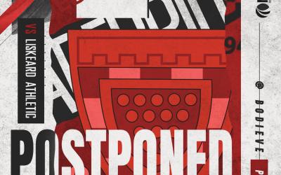 Match Postponed v Liskeard!