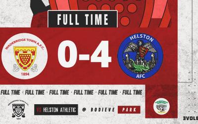 Match Report: Wadebridge Town 0 v 4 Helston Athletic (Cornwall Senior Cup)